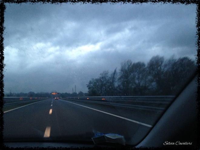 pioggia fredda