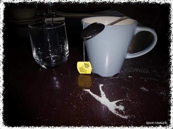 il tè sottosopra