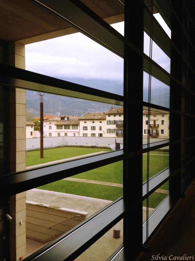 finestra del Mart di Rovereto