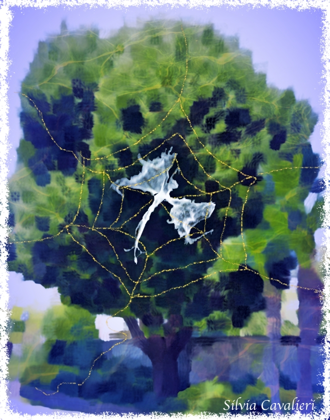 albero con fata prigioniera