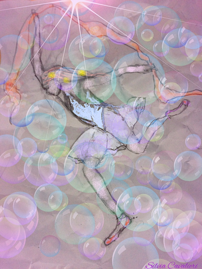 danza delle bolle firmata