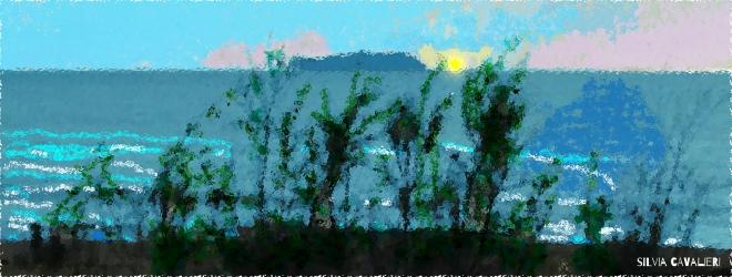 tramonto dalla finestra firmato