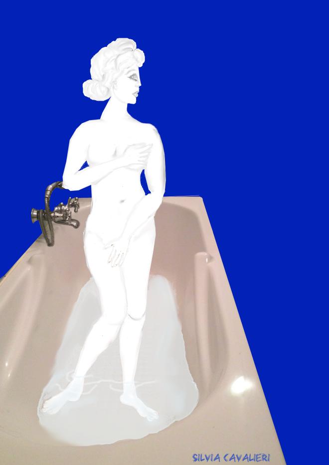 Afrodite nella vasca da bagno