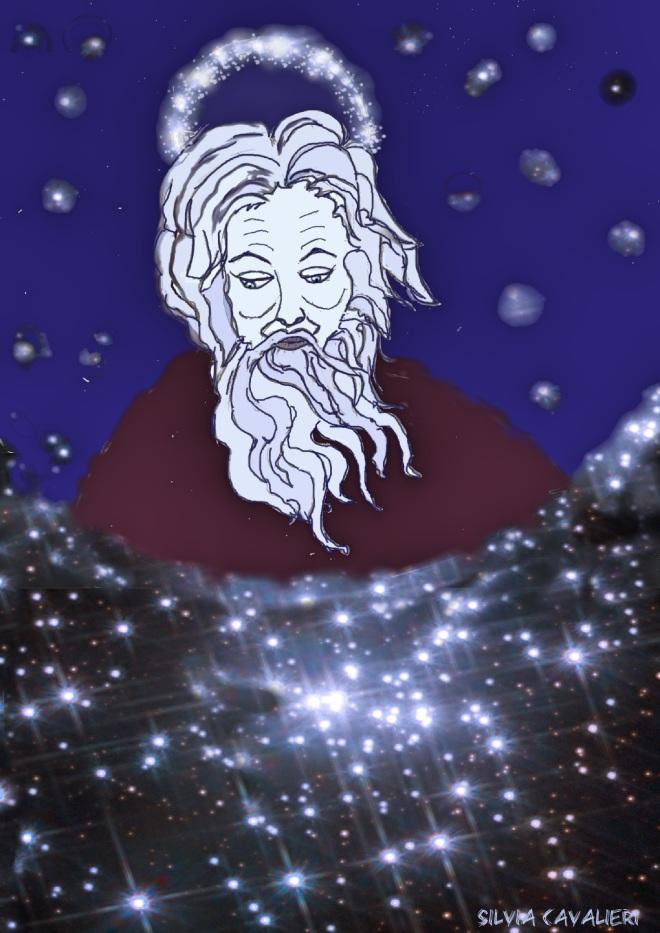 Dio affacciato sull'universo